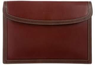 Mark Cross Leather Envelope Portfolio