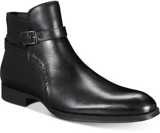 Alfani AlfaTech by Men's Ansell Double Buckle Boots, Created for Macy's Men's Shoes