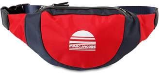 Little Marc Jacobs Logo Printed Canvas Belt Bag