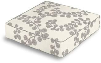 Loom Decor Box Floor Pillow Goldilocks - Platinum