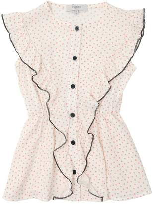 Polka Dot Printed Viscose Dress