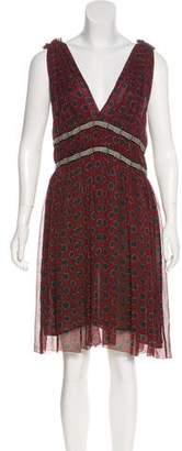 Etoile Isabel Marant Polka Dot Knee-Length Dress