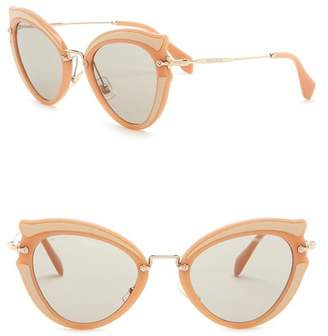 Miu Miu Butterfly 52mm Acetate Frame Sunglasses