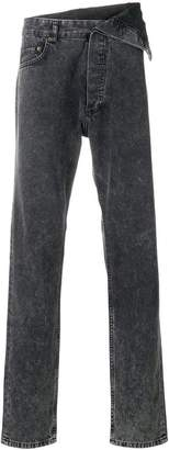 Y/Project Y / Project asymmetric draped waist jeans