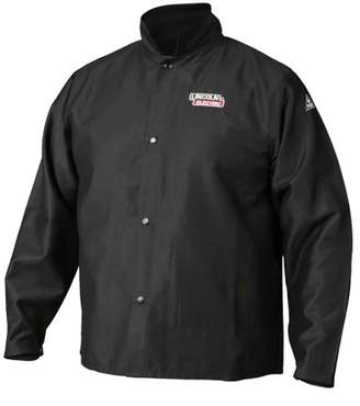Lincoln Electric K2985 Traditional FR Cloth Welding Jacket, Medium