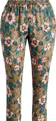 Ralph Lauren Floral-Print Twill Pant