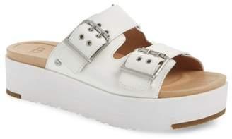 ed9b3fb2fc1 UGG White Heeled Women s Sandals - ShopStyle