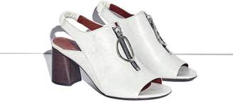 3.1 Phillip Lim Drum sandal with zip
