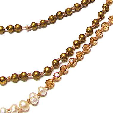 JCPenney Pannee Sterling Silver Faux-Pearl & Crystal Necklace