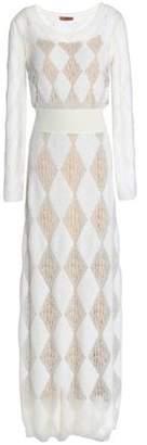 Missoni Crochet And Jacquard-knit Maxi Dress