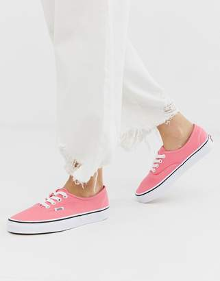 Vans Authentic recycled polyester pink sneakers