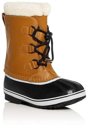 Sorel Unisex Yoot Pac Waterproof Leather Cold Weather Boots - Little Kid, Big Kid