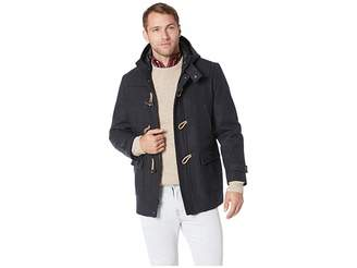 Nautica Wool Hooded Toggle and Zip Coat Men's Coat