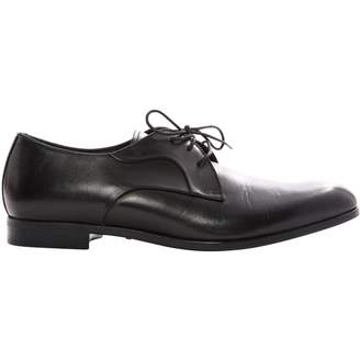 Emporio Armani Leather lace ups
