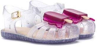 Mini Melissa glittered sandals