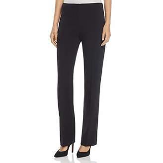 T Tahari Women's Hazel Straight Leg Zip Front Suit Pant