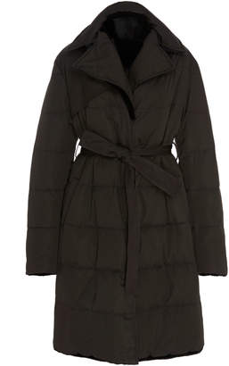 Pologeorgis Veronica Reversible Mink Puffer Coat