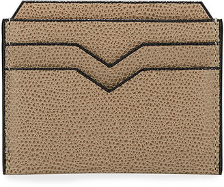 Valextra Saffiano Leather Card Case