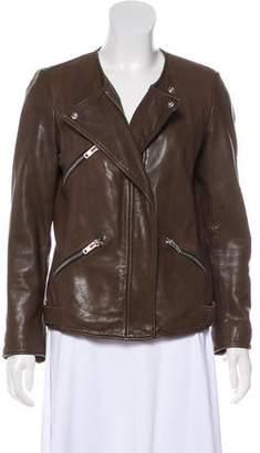 Etoile Isabel Marant Zip-Up Leather Jacket