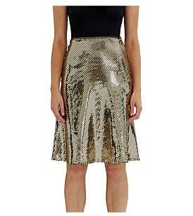 By Johnny Gold Reflections Midi Skirt