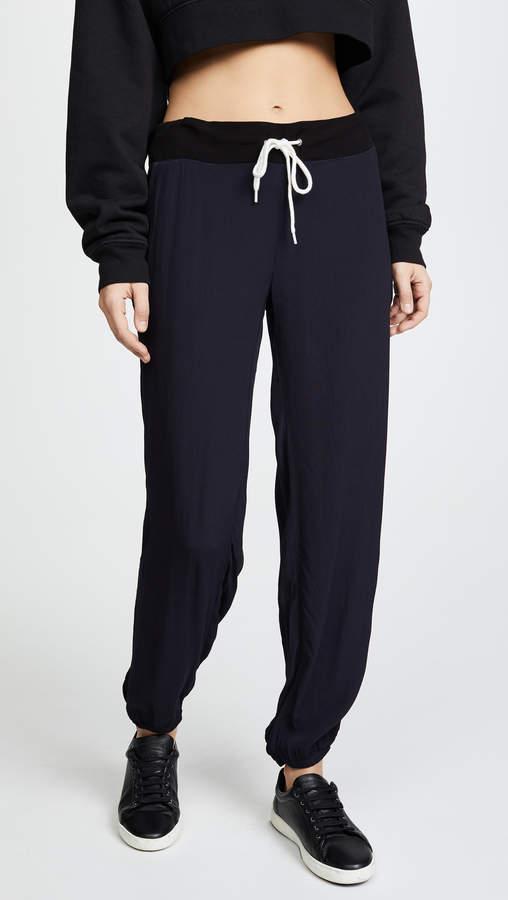 Crepe Basics Track Pants