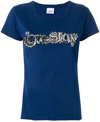 Pinko embroidered short-sleeve T-shirt