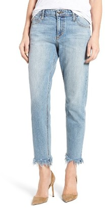 Women's Joe's Collector's Edition - Smith Frayed Hem Ankle Jeans $189 thestylecure.com
