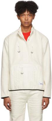 Kenzo Off-White Polar Half-Zip Sweater