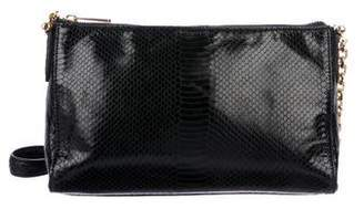 Lauren Ralph Lauren Embossed Chain-Link Crossbody Bag