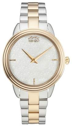 Kenzo Women's O Two-Tone Bracelet Watch, 36mm