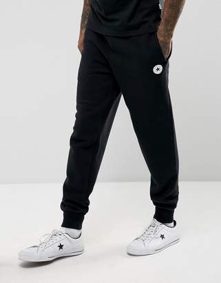 Converse Chuck Patch Joggers In Black 10004631-A04
