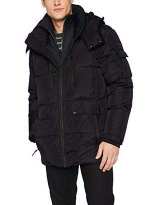 S13 Men's Ashton Quilted Down Zip Front Midlength