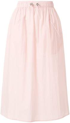 Mira Mikati snap side technical skirt