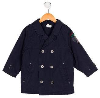 Catimini Boys' Double-Breasted Lightweight Coat