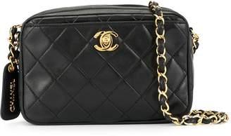 Charm & Chain Chanel Pre-Owned 1995's Turn-lock Charm Chain bag