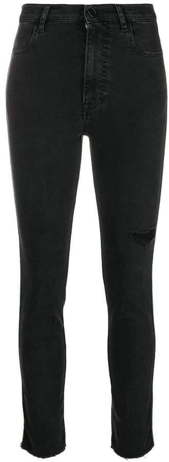 Pt05 skinny distressed jeans