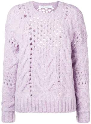 IRO eyelet knit sweater