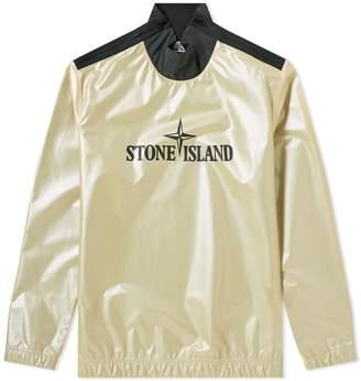 Stone Island Iridescent Reflex Mat Popover Moc Neck Jacket