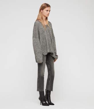 AllSaints Aris V-Neck Sweater