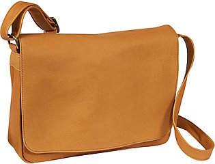 Le Donne Leather Flap Over Shoulder Bag