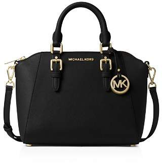 MICHAEL Michael Kors Ciara Medium Leather Messenger Bag