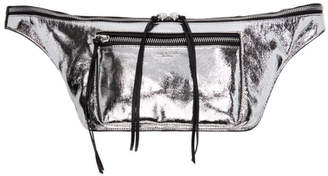Rag & Bone Silver Large Elliot Fanny Pack