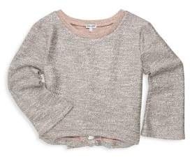 Splendid Girl's Metallic Bow Sweater