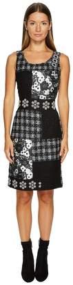 Moschino Patchwork Tweed Dress Women's Dress