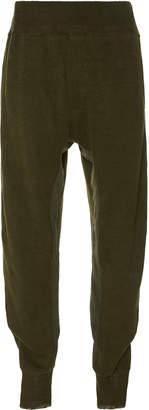 Haider Ackermann Linen-Jersey Track Pants