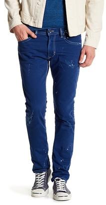 Diesel Thavar Splatter Skinny Jean $278 thestylecure.com