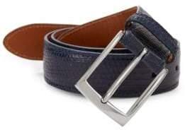 Saks Fifth Avenue Genuine Lizard Leather Belt