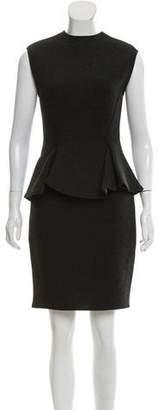Lanvin Knee-Length Peplum Dress