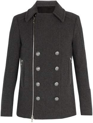 Balmain Wool duffel coat