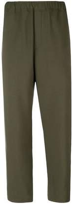 Oamc elastic waist trousers